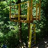 Treehouse railing framing