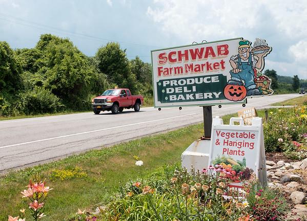 JOED VIERA/STAFF PHOTOGRAPHER-Gasport, NY- Schwab Farm Market.