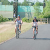 JOED VIERA/STAFF PHOTOGRAPHER-Pendleton, NY-Cyclists ride down the Erie Canal Bike Path.