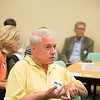 JOED VIERA/STAFF PHOTOGRAPHER- Lockport, NY-Allan Jack spoke during a meeting of residents, community  service providers and city officials held to discuss problems and solutions for the South Street neighborhood initiative.