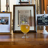 JOED VIERA/STAFF PHOTOGRAPHER-Lockport, NY-A glass of Walter Kohl-sch beer stands in front of a display dedicated to Kohl's memory at the NYBP.