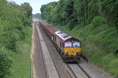 66174 East Dean 24/06/16 6Z33 Southampton Up Yard to Westbury