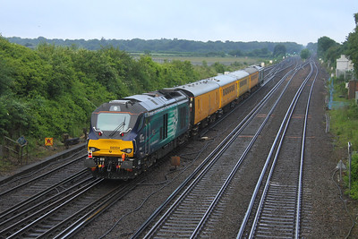 68004 Worting Junction 30/06/16 on the rear of 1Q23 Old Oak Common to Salisbury