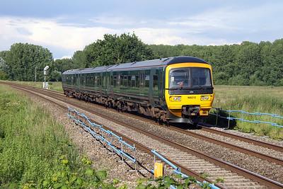 166212 Ufton Nervet 25/06/16 2K80 Reading to Newbury