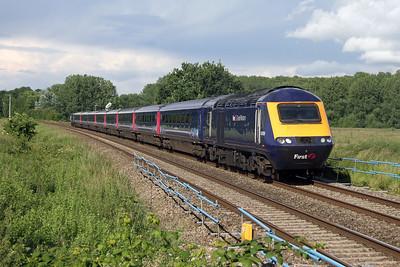 43009 Ufton Nervet 25/06/16 1C24 London Paddington to Weston-Super-Mare