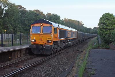 66706 Micheldever 23/06/16 4Y81 Southampton Western Docks to Mountfield