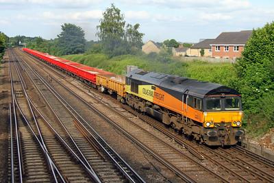 66849 Worting Junction 27/06/16 6Y42 Hoo to Eastleigh