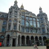 Antwerp Central station building.