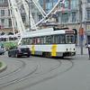 De Lijn PCC tram no. 7152 broken down at Antwerp Central station on the 12.
