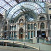 The interior of Antwerpen Centraal station.