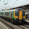 London Midland Class 350 Desiro no. 350127 at Bletchley on a Birmingham service.
