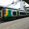 London Midland Class 350 Desiro no. 350114 at Bletchley on a Euston service.