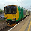 London Midland Class 150 Super Sprinter no. 150107 at Bedford on a Marston Vale service to Bletchley.