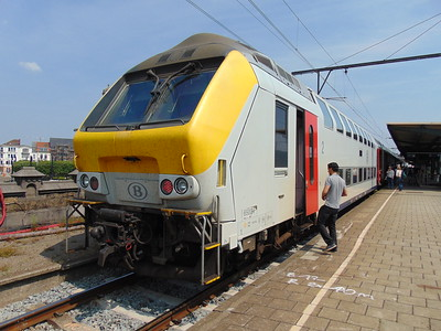 Trains in Belgium