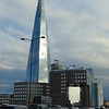 The Shard seen from London Bridge.