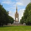 The Albert Memorial in Hyde Park.