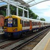 London Overground Class 378 Electrostar no. 378151 at Crystal Palace on an East London Line service.