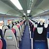 Great Western Railway HST Mark 3 quiet coach carriage interior at Oxford.