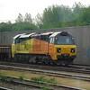 Colas class 70 no. 70801 at Hinksey Yard, Oxford.