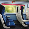 Great Western Railway HST Mark 3 carriage interior at Oxford.