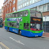 Thames Travel Enviro 400 AF10OXF 212 in Reading on the X40 to Oxford.