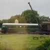 Prototype gas turbine locomotive no. 18000 at the Didcot Railway Centre.