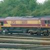 DB Cargo Class 66 no. 66150 at Hinksey Yard, Oxford.