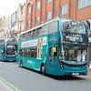 Reading Buses Enviro 400 MMC YY15OYF 764 on Emerald route 5.