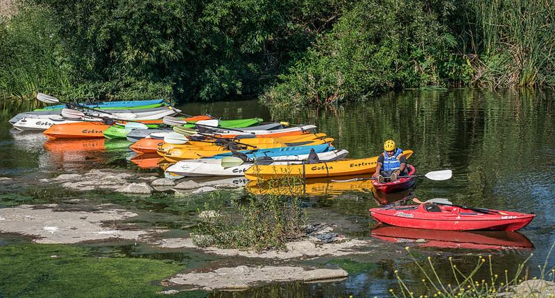 LA river boating