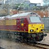 DB Cargo Class 67 no. 67023 at London Kings Cross on thunderbird duties.