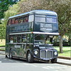 The Ghost Bus Tours AEC Routemaster KGJ341A RM1666 at York station.