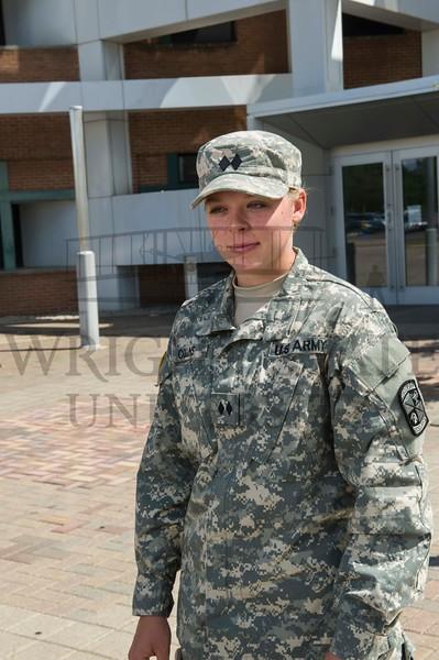 17705 Jim Hannah, ROTC Cadet Eleanor Collins 6-29-16