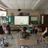 JOED VIERA/STAFF PHOTOGRAPHER-Lockport, NY- Students at North Park Jr. High School attend a Reality Check meeting after school and discuss the dangers of tobacco.