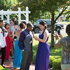 JOED VIERA/STAFF PHOTOGRAPHER-Lockport, NY- Students pack Childrens Memorial Park to take pictures before prom night.