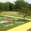 JOED VIERA/STAFF PHOTOGRAPHER-Lockport, NY- Widewaters park has been cleaned up and refurbished  for family enjoyment at the recently reopened hot dog stand.