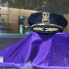 JOED VIERA/STAFF PHOTOGRAPHER-Lockport, NY- A display honors Lockport Police and promotes the Relay for life in Scirto's Jewelers' front window.