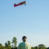JOED VIERA/STAFF PHOTOGRAPHER-Lockport, NY-Walt Blace flys a RC model airplane at Niagara County Radio Control Flying Field.