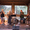 JOED VIERA/STAFF PHOTOGRAPHER-Wilson, NY-Flyin Blind, a blues band plays a gig  at Sunset Grill.