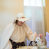 JOED VIERA/STAFF PHOTOGRAPHER-Appleton, NY-Margo Sue Bittner pours tea at Marjim Manor.