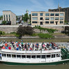 JOED VIERA/STAFF PHOTOGRAPHER-Lockport, NY-Visitors of Lockport take a Erie Canal cruise through the Locks.