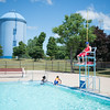 JOED VIERA/STAFF PHOTOGRAPHER-Lockport, NY-A scene during opening day of the Lockport Community Pool.