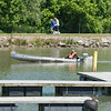 JOED VIERA/STAFF PHOTOGRAPHER-Lockport, NY-People enjoy both land and water on the canal.