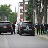 JOED VIERA/STAFF PHOTOGRAPHER-Lockport, NY-Lockport Police canvas south street for a suspect involved in a reported shooting.