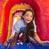 JOED VIERA/STAFF PHOTOGRAPHER-Lockport, NY- Ashlynn Norton 9 plays in a maze during Desales' Field Day.