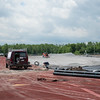 JOED VIERA/STAFF PHOTOGRAPHER-Pendleton, NY-Crews work on Starpoint's track.