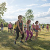 JOED VIERA/STAFF PHOTOGRAPHER-Lockport, NY-  A zumba class at Day Road Park.