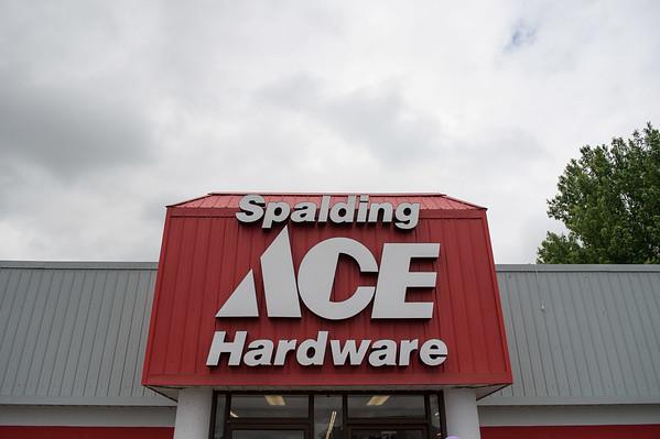 JOED VIERA/STAFF PHOTOGRAPHER-Lockport, NY-The Spalding Ace Hardware store.