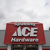 JOED VIERA/STAFF PHOTOGRAPHER-Lockport, NY-The Spalding Ace Hardware store.