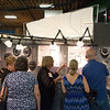 JOED VIERA/STAFF PHOTOGRAPHER-Lockport, NY- People browse through jewlery at Dayna Banka-Slone's booth during the 100 Craftsman show at the Kenan Arena. Dayna has been an artist for the show for close to 15 years.