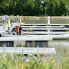 JOED VIERA/STAFF PHOTOGRAPHER-Lockport, NY-A man undocks his canoe at Widewaters Dock.